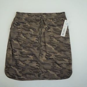 Tribal Camo Print Skirt
